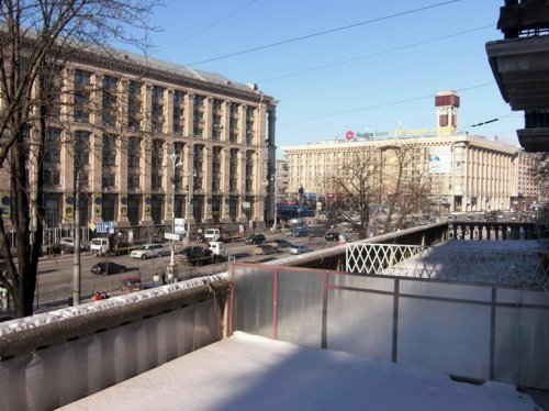 Rent apartment in Kiev at 13 Kreshchatik St.